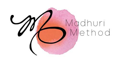 Madhuri Method Sticky Logo Retina