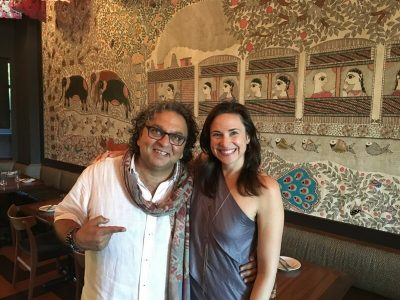 Celebrity Chef Vikram Vij on Life & Cooking | Madhuri Method Podcast