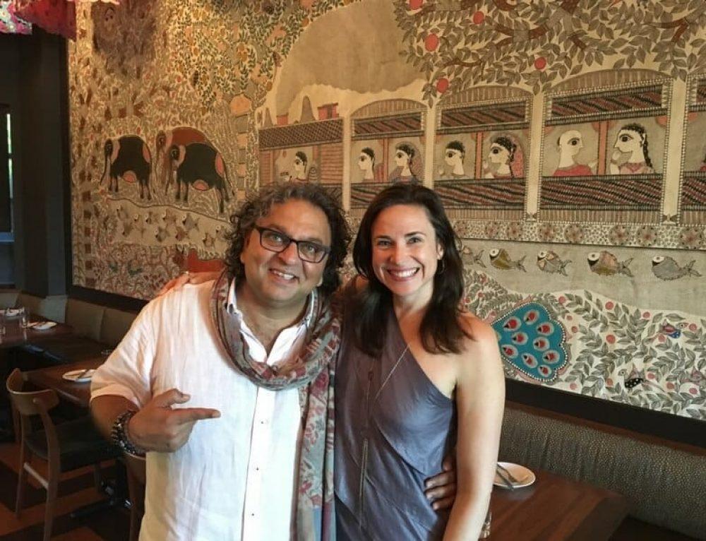 Celebrity Chef Vikram Vij on Life & Cooking