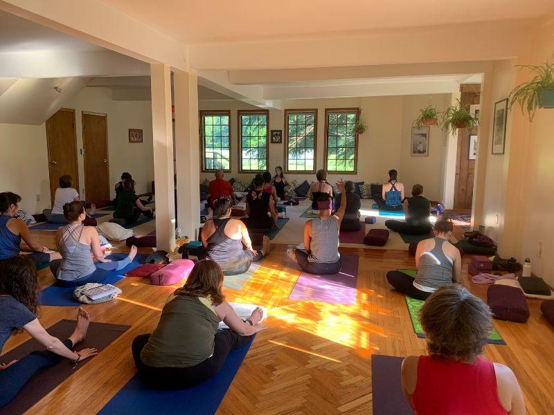 Online Ayurvedic Yoga Classes by Donation | MadhuriMethod.com